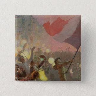 Minne av medborgarefestivalen, 1895 standard kanpp fyrkantig 5.1 cm