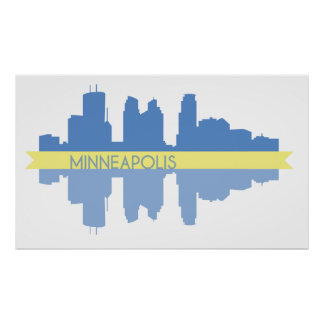 Minneapolis affisch poster