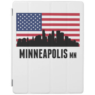 Minneapolis MN-amerikanska flaggan iPad Skydd