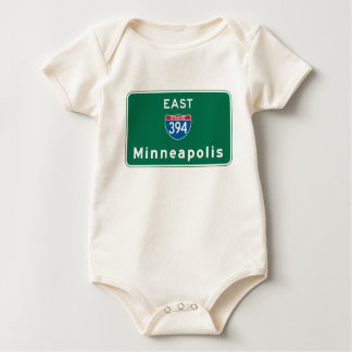 Minneapolis MN-vägmärke Body