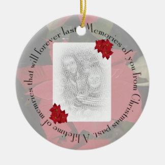 Minnen av dig, personifierar julgransprydnad keramik