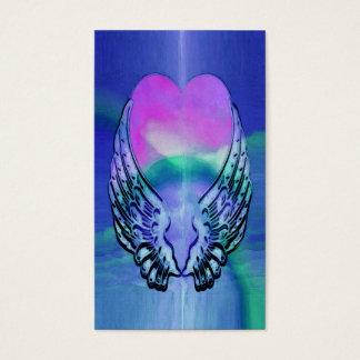 Minnes- | hjärta- och ängelvingar för kort