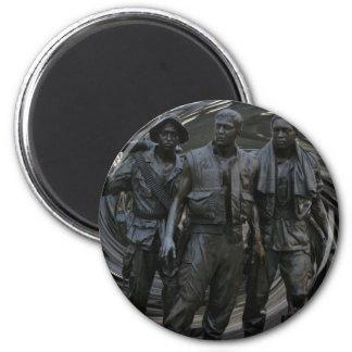 Minnes- rundamagnet för vietnamkriget magnet