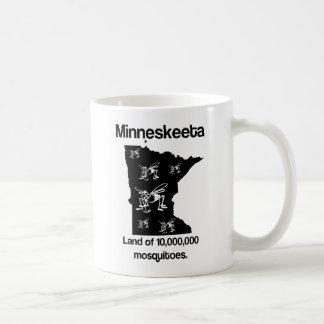 Minneskeeta land av för MN-kaffe för myggor den Kaffemugg