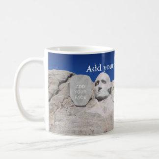Minnesmärke för anpassadeMount Rushmore Kaffemugg