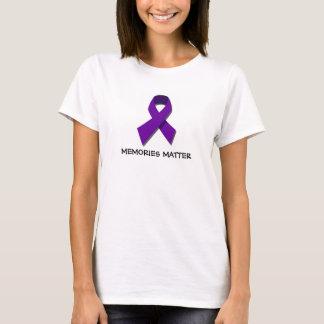 MinnesmateriaAlzheimers T-tröja för medvetenhet Tröjor