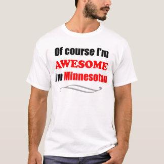 Minnesota är enorm tee shirts