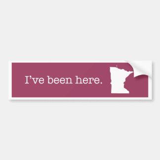 Minnesota bildekal