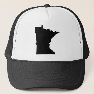 Minnesota i svartvitt truckerkeps