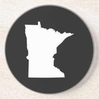 Minnesota i vit och svart underlägg sandsten