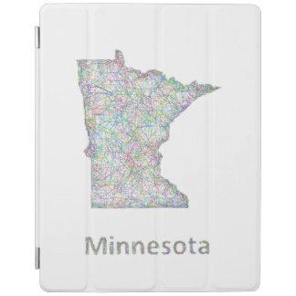 Minnesota karta iPad skydd