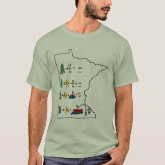 Minnesota lycklig utomhus- fiskeskjorta tröjor