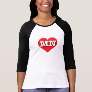 Minnesota röd hjärta - stor kärlek tröjor
