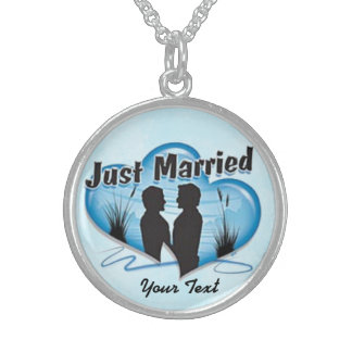Minnessakbröllophalsband Sterling Silver Halsband