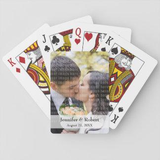 Minnessakfoto som leker kort casinokort