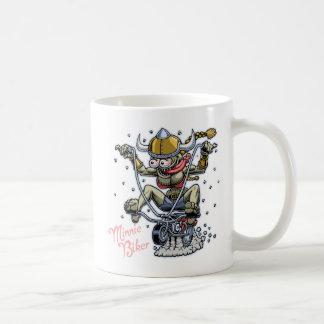 Minnie biker kaffemugg