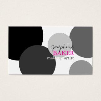 minniemay diy färg/svart+vit pricker visitkort
