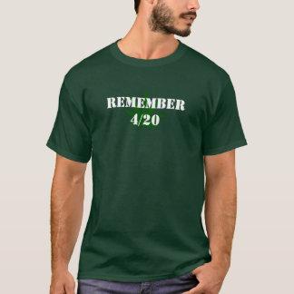Minns 4/20 t-shirt