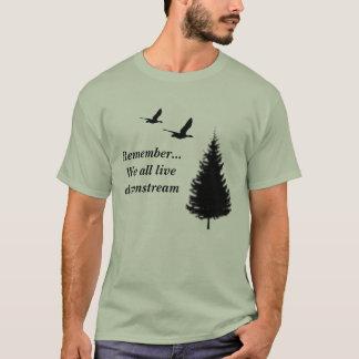 Minns…, Alla vi bor downstream T Shirts