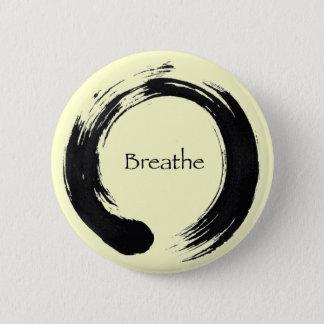 Minns att andas! standard knapp rund 5.7 cm