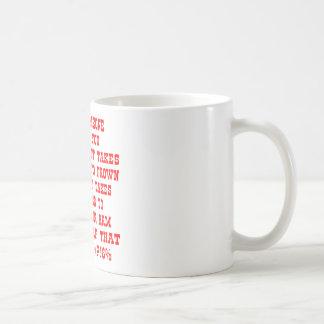Minns att det tar endast fyra muskler till kaffemugg