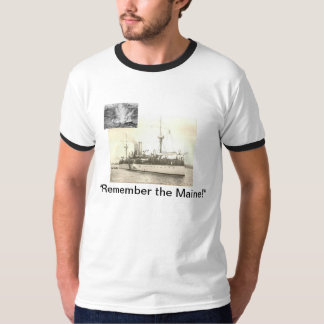 Minns den Maine T-tröja T Shirts