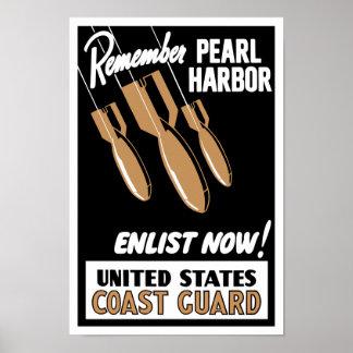 Minns den pärlemorfärg hamnen för att enlist nu -- poster