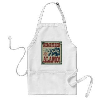 Minns det Alamo förklädet Förkläde