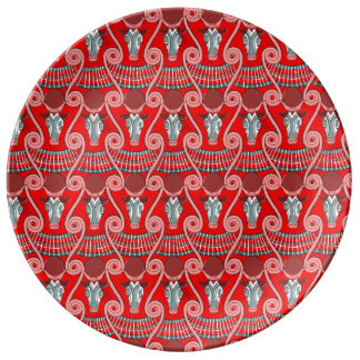 Minotaur pläterar dekorativt porslin