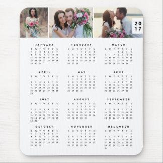 Minsta årlig kalender Mousepad Musmatta