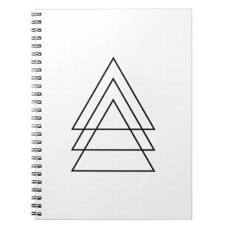 Minsta Trio av trianglar Anteckningsbok