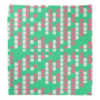 Mint- och rosamatris bandanas