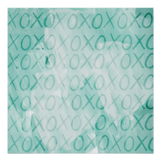 Mint XOXO Affischer