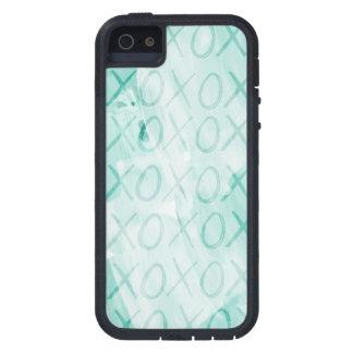 Mint XOXO iPhone 5 Cases