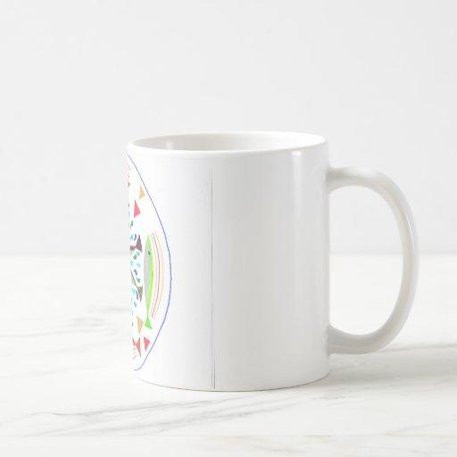 Mirakulöst fånga kaffe kopp