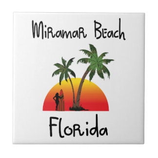 Miramar strand Florida. Kakelplatta