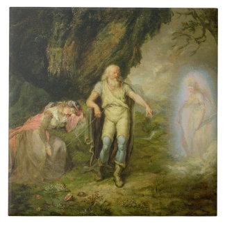 """Miranda, Prospero och Ariel, från """"stormen"""" by Kakelplatta"""