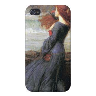 Miranda - stormen - John William Waterhouse iPhone 4 Skydd