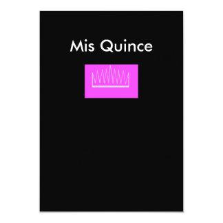 Mis-Quince 12,7 X 17,8 Cm Inbjudningskort