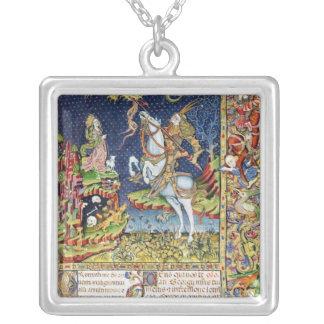 Missal av St George av Topusko Silverpläterat Halsband
