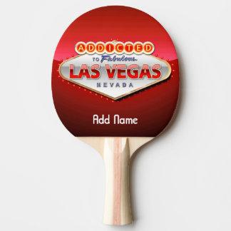 Missbrukat till Las Vegas, undertecknar roliga Pingisracket