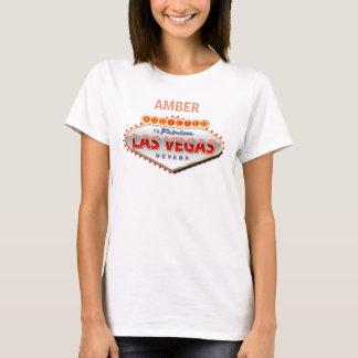Missbrukat till Las Vegas, undertecknar roliga Tee Shirt