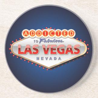 Missbrukat till Las Vegas, undertecknar roliga Underlägg Sandsten