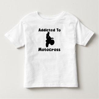 Missbrukat till motocrossen t-shirt