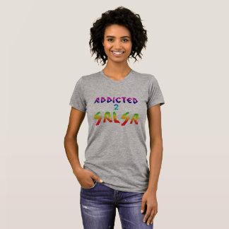 Missbrukat till salsatshirten t-shirt