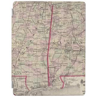 Mississippi och Alabama iPad Skydd