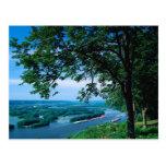 Mississippi River Iowa Vykort