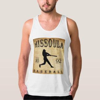 Missoula Montana baseball 1892 Tanktop