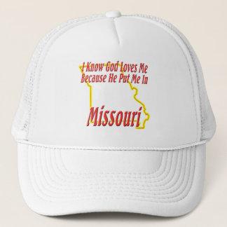 Missouri - guden älskar mig truckerkeps