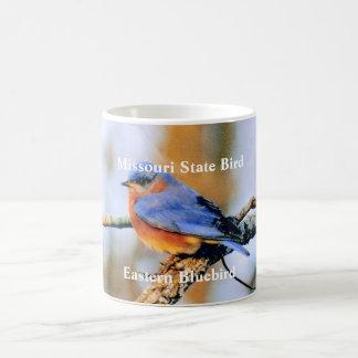 Missouri statlig fågel, östligt blått… kaffemugg